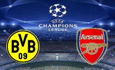 Прогноз, Футбол, Лига Чемпионов, Боруссия Дортмунд — Арсенал