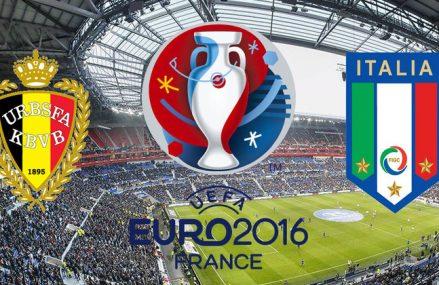 Прогноз на Бельгия — Италия, Евро-2016, Футбол