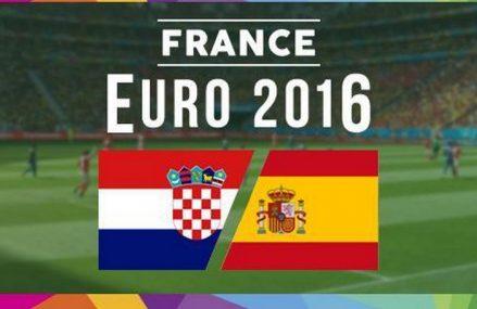 Прогноз на Хорватия — Испания, Евро-2016, Футбол