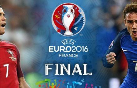 Прогноз на Португалия — Франция, Евро-2016, Футбол