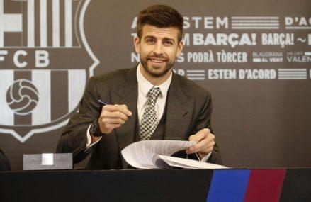 Барселона продлила контракт с основным защитником